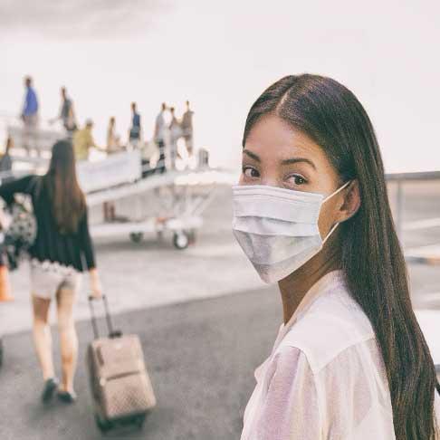 Social Distancing at Airports